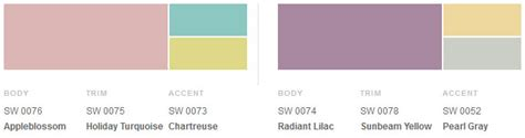 scandinavian color palette 1950s decorating style