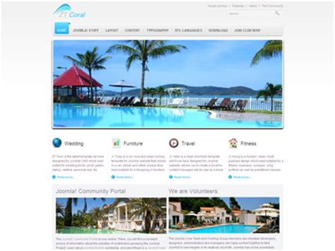zt coral joomla travel template