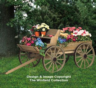 planter woodworking plans buckboard wagon woodworking plan