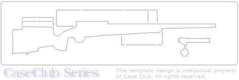 rifle stock template rifle template images