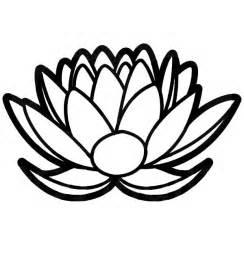 Lotus Floral Design Lotus Flower Floral Lotus Flower Design Coloring Pages