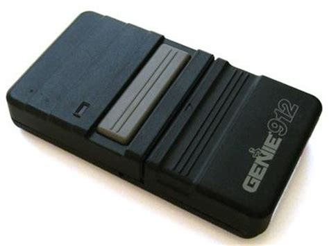 Genie 912 Garage Door Opener Genie 912 Remote Replacement