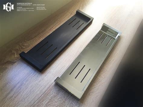 polished chrome desk accessories ettore square polished chrome bathroom shower shelf