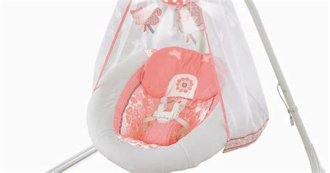 fisher price coral floral swing fisher price deluxe cradle swing coral floral cambry