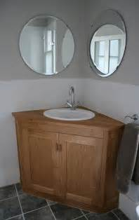 Solid Oak Bathroom Vanity Unit » Home Design 2017