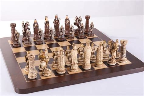 medieval chess set chess house