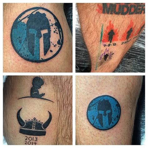 tough mudder tattoo 37 best spartan race images on spartan
