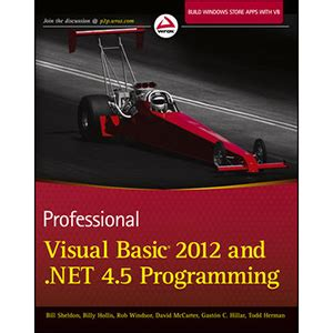 new book quot parallel programming with microsoft visual c professional visual basic 2012 and net 4 5 programming