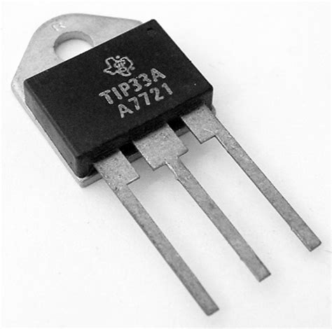transistor get tip33a 3a 3 120v npn silicon power transistor west florida components