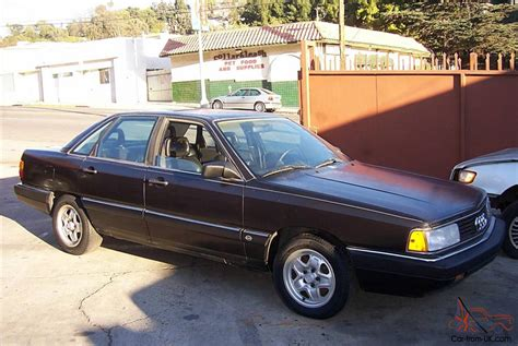 auto manual repair 1987 audi 5000cs auto manual 1987 audi 5000cs turbo quattro five speed manual black black rare
