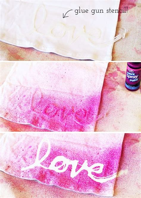 How To Make A Stencil With Wax Paper - make your design or saying with glue on wax paper