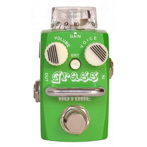 Hotone Grass Overdrive Based On Dumble hotone grass overdrive pedalı