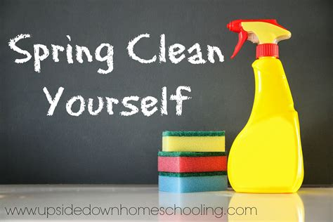 spring cleaners spring clean yourself