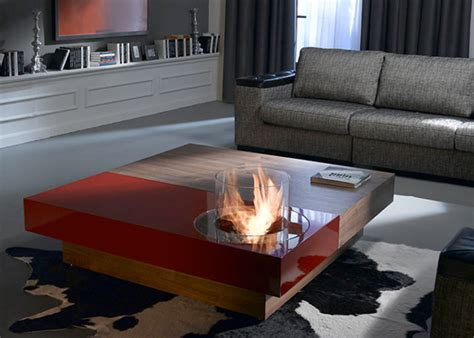 Fireplace Coffee Table Coffee Tables With Built In Fireplace Digsdigs