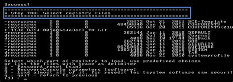 reset password registry xp lost or forgot administrator password in windows