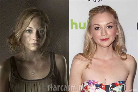 beth from walking dead actress photos the walking dead cast at paleyfest side by side