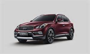 Infiniti Qx50 2016 Infiniti Qx50 Preview 2015 New York Auto Show