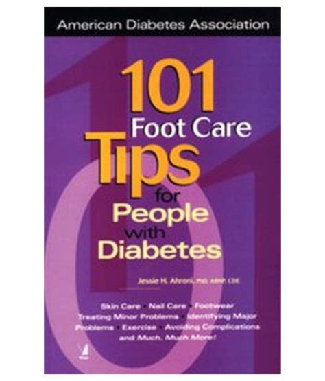 Care Tips 1 by 101 Foot Care Tips For With Diabetes Buy 101 Foot