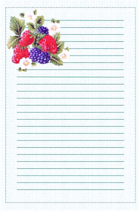 printable stationery envelopes free printable fruit stationary lined stationery