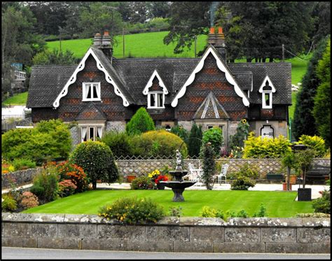 alpine style cottages in ilam derbyshire pixdaus
