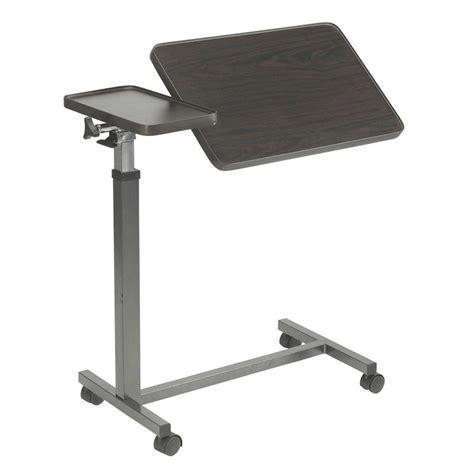 drive multi purpose tilt top split overbed table drive top overbed table treatment tables