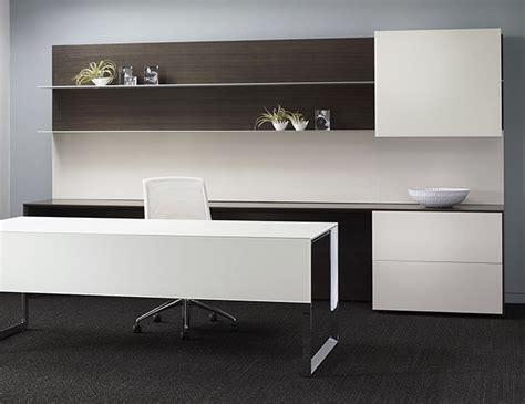 grey wood chrome open leg desk ambience dor 233