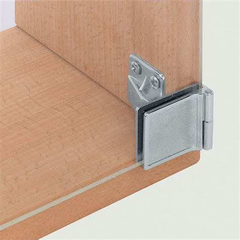ha 361 93 240 non bore all metal glass door cabinet hinge