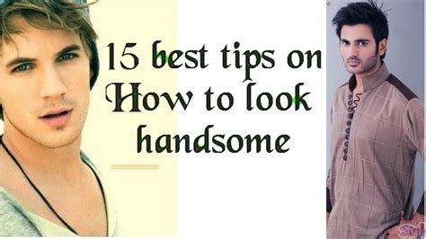 How To Search On How To Look Handsome