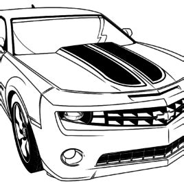 bumblebee car coloring page transformers car mode bumblebee free coloring pages