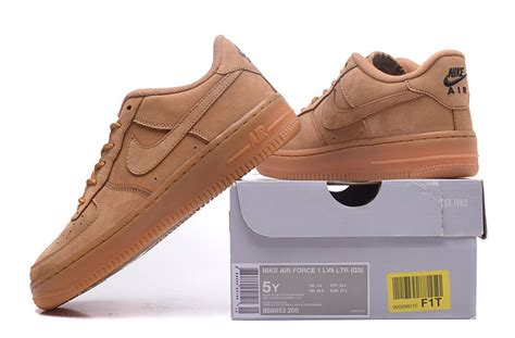 are nike air force 1 comfortable comfortable nike air force 1 low gs flax wheat flax