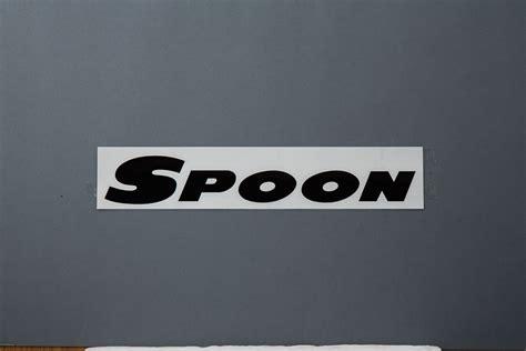 Sticker Spoon Sports For Velg spoon team sticker 300mm ravspec