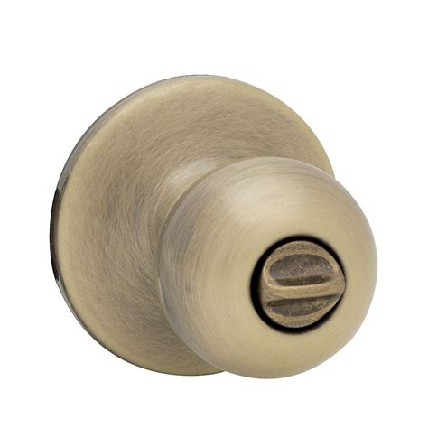 bed knobs kwikset polo antique brass bed bath knob 300p 5 6al rcs the home depot