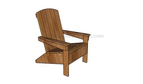 Building Adirondack Chairs by How To Build An Adirondack Chair Howtospecialist How