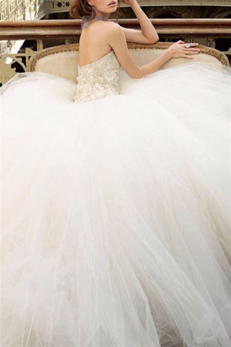 Wedding Dresses Poofy by Poofy Wedding Dress Wedding Stuff