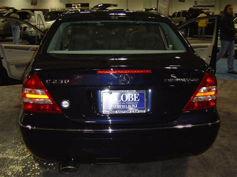 black mercedes c230 kompressor nj auto expo 2005 car