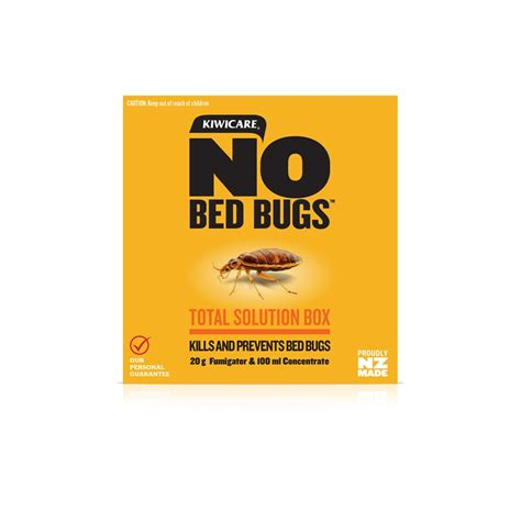 bed bugs solution kiwicare no bed bugs total solution box bunnings warehouse
