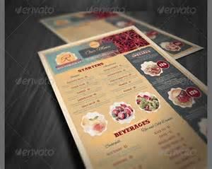 hypernot beautiful restaurant menu templates and designs