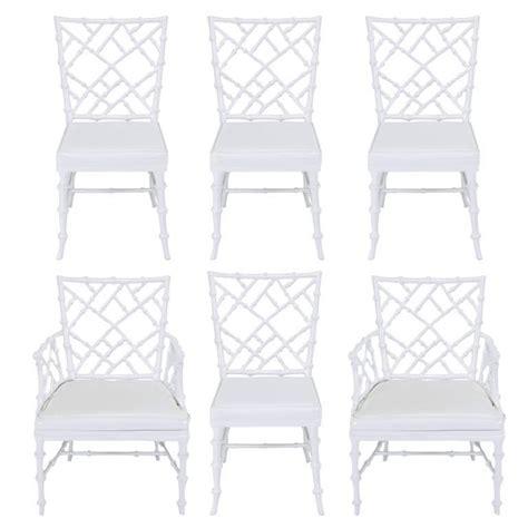 Morris Furniture Sale by Six Phyllis Morris Cast Aluminum White Lacquer
