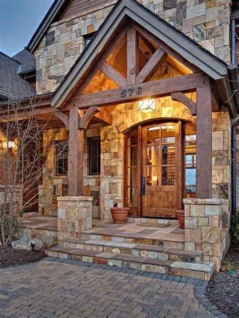 beam x front of house 25 best ideas about stone exterior houses on pinterest