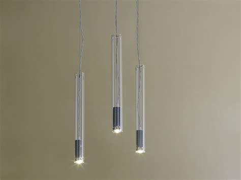 illuminazione sospensione design lada a sospensione a led tubo led by fontanaarte design