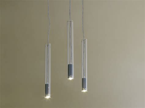 illuminazione sospensione lada a sospensione a led tubo led by fontanaarte design