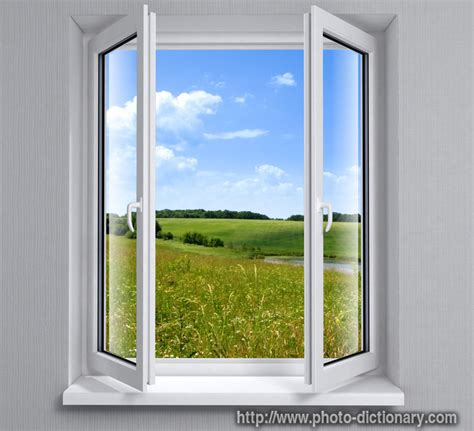 Casement Window by Window Photo Picture Definition At Photo Dictionary