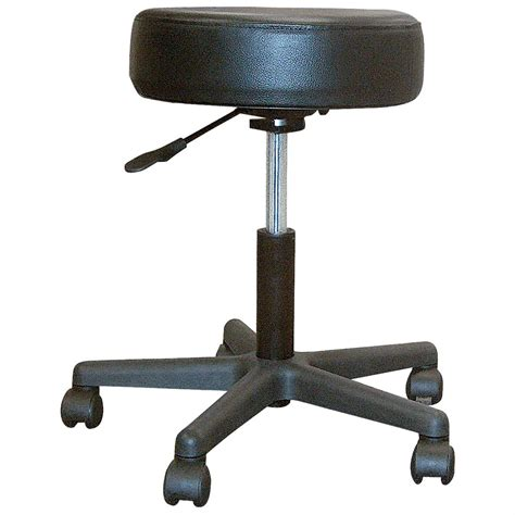 Wheeled Stools by Drive Medical Revolving Pneumatic Adjustable Wheeled