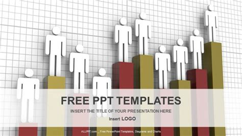Human Graph Business Powerpoint Templates Business Graph Templates