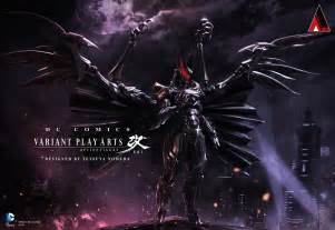 Designing A Home Software by Final Fantasy Designer Draws His Own Batman Looks Like A