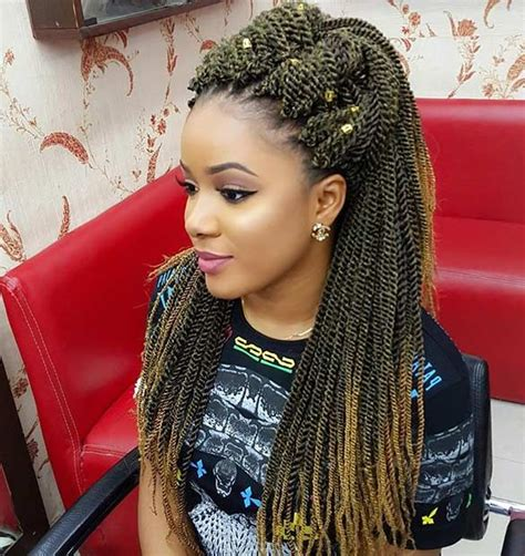 hairstyles with senegalese twist with crochet 31 stunning crochet twist hairstyles updo beauty and