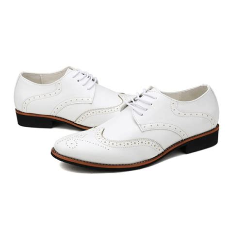 Pointed Brogue Oxfords handmade pointed toe oxford brogue dress shoes leather