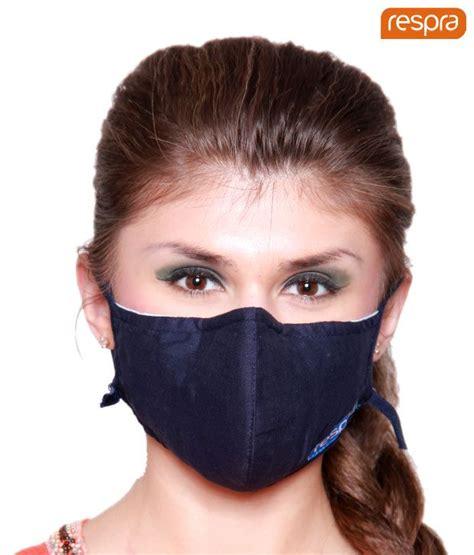 Maskr Mask Anti Pollutan respra anti pollution mask blue pack of 3 buy