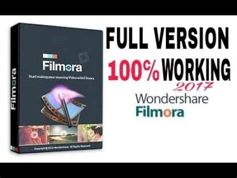 wondershare filmora full version key wondershare filmora letest 2017 full version with 100