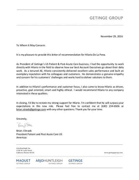Reference Letter Là Gì Brian Straeb Reference Letter